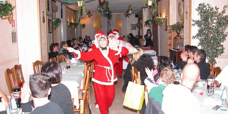 Cena di Natale 2004 Escuela Loca