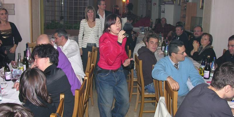 Cena di Natale 2007 Escuela Loca