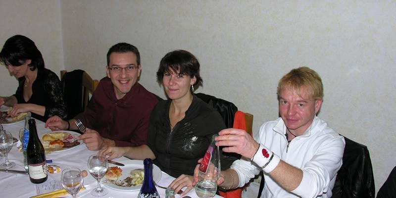 Cena di Natale 2008 Escuela Loca