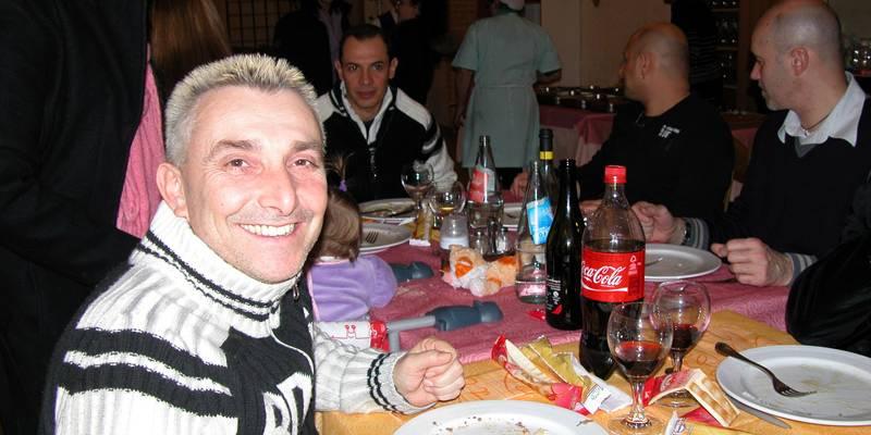 Cena di Natale 2009 Escuela Loca