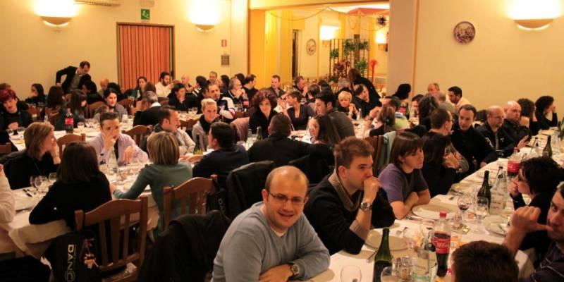 Cena di Natale 2011 Escuela Loca